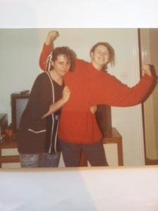 My Mum and Me (the before photo)